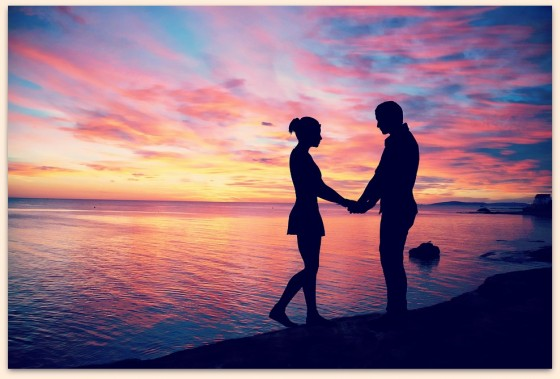 couple-amour-sunset